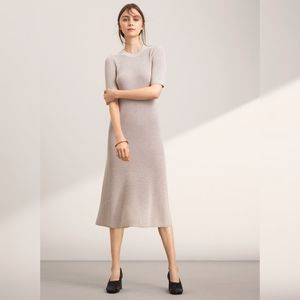 Wilfred Brotteaux Black Knit midi Dress